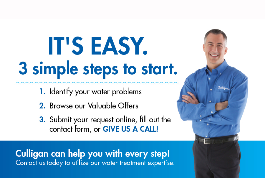 Steps to Contacting Culligan